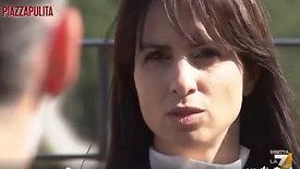 Enrica Sabatini intervista Piazza Pulita (La7) - 12 marzo 2021
