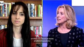 Enrica Sabatini intervista RaiNews24 - 13 marzo 2021