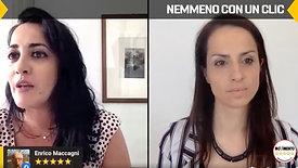 """Enrica Sabatini in """"Nemmeno con un Clic"""" - 23 aprile 2020"""