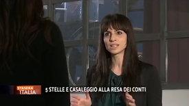 Enrica Sabatini intervista a Stasera Italia Rete 4 - 12 aprile 2021