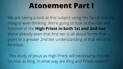 Atonement Part 1