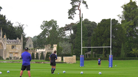Goal Kicking Practice at Farleigh