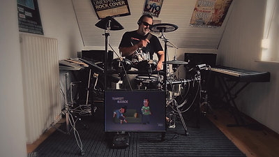 Video Drum Meshup