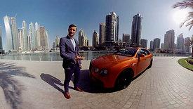 Bentley Flying Spur - Exploring Dubai