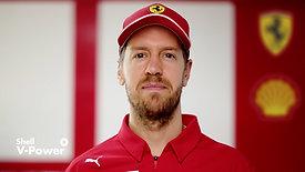 Sebastian Vettel - Shell V-Power