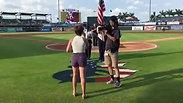 National Anthem-July 4th, 2019-Bradenton Marauders Baseball