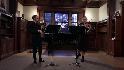 Margaret Boswell - 8 Duets for 2 Violins PREVIEW