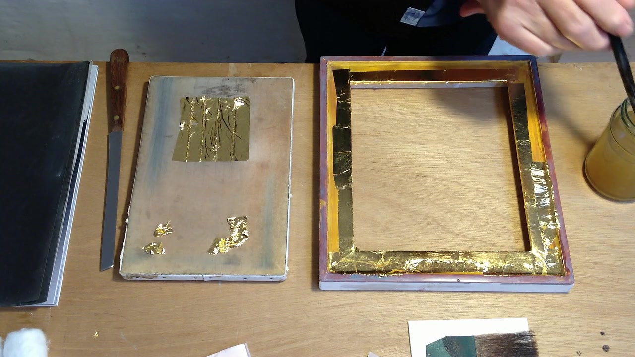 Part 4 Step by Step Water-gilding