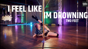 I FEEL LIKE IM DROWNING Tutorial - Beginner Heels | Amy Hazel