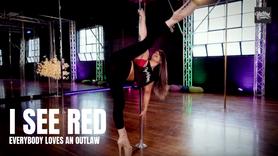 I SEE RED Tutorial - Intermediate Heels | Renee