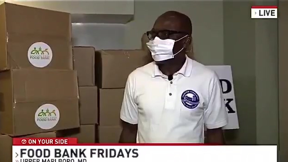 ABC 7 News visits Fountain Food Pantry