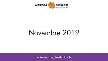 Réalisations Novembre 2019