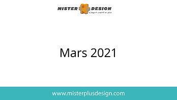 Réalisations mars 2021