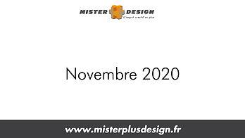 Réalisations Novembre 2020