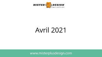 Réalisations avril 2021