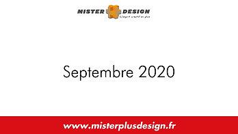 Réalisations Septembre 2020