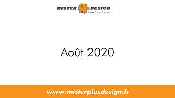 Réalisations Aout 2020