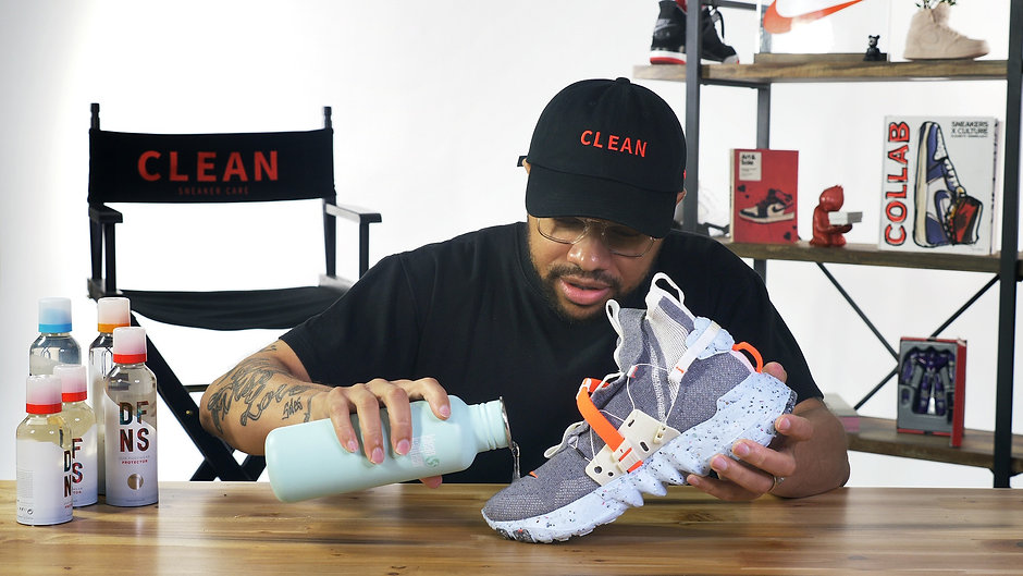 Clean Sneaker Care: Ep. 1 Space Hippie