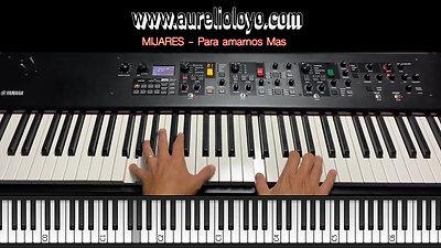 Mijares - Para Amarnos Mas - Aurelio Loyo - PIANO