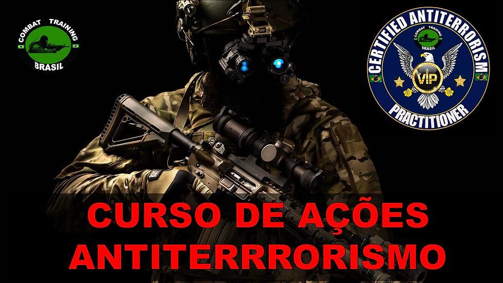 CURSO DE AÇÕES ANTITERRORISMO
