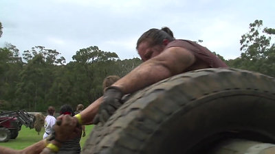 Obstacle 13 Tyre Roller