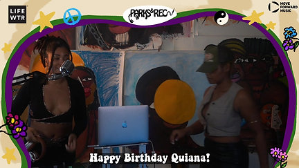 Parks and Rec Birthday Celebration with Quiana Parks & Niara Sterling