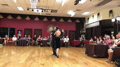 Tango performance at VZ Dance Studio, Las Vegas - El Olivo D'Arienzo