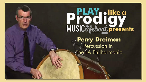 Learn From A Master: Take Percussion Lessons With Virtuoso Musician Perry Dreiman, Percussionist In The Los Angeles Philharmonic