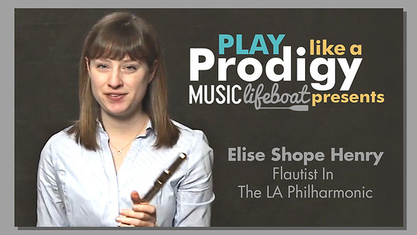Learn From A Master: Take Beginner Flute Lessons With Virtuoso Musician Elise Shope, Flautist In The Los Angeles Philharmonic.