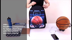 Customized soccer - sports Backpack