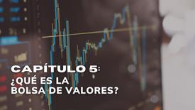 CAPÍTULO 5: ¿Qué es la Bolsa de Valores?