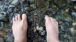 Foot Fitness:  Sensory Play