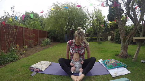 mam and baby yoga