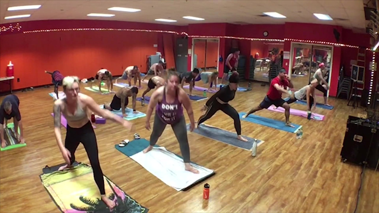 Hot Yoga Video