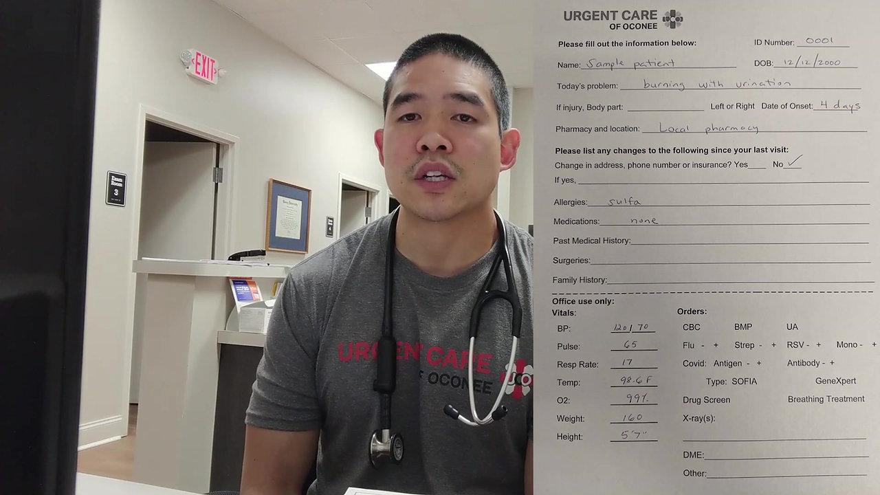 Joe Hwang | Urgent Care PA - Part 2 (Clinic Site Walkthrough and UTI Patient Case)  | Get That C University