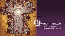Maunday Thursday - April 1, 2021