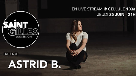 Astrid B. & Band (Live stream at Cellule 133A)