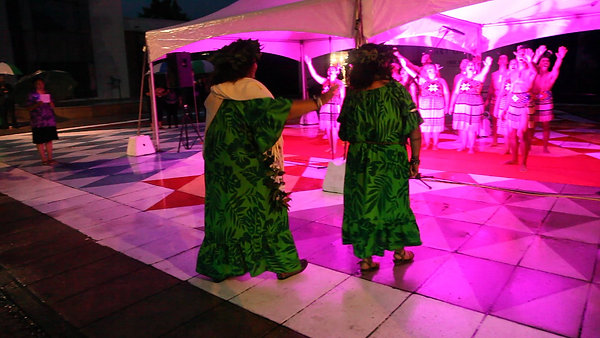 Takitimu ki Rarotonga Pou Unveiling
