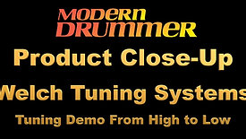 Product Close-Up: Welch Tuning Systems Tuning Demo from High to Low