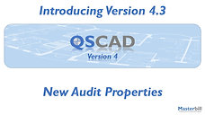QSCadv4 - New Audit Properties