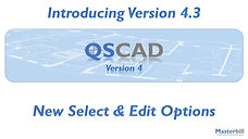 QSCadv4 - New Select & Edit Options