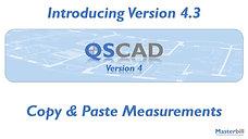 QSCadv4 - Copy & Paste Measurements