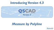 QSCadv4 - Measure by Polyline