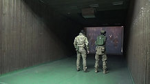 Shooting range Las