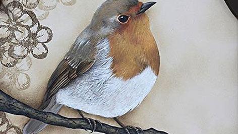Pintura Country EX Pássaro