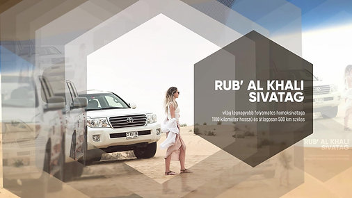 Dubai 2019. március | Sivatagi kaland