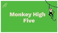 Monkey High Five