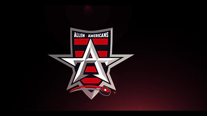 """Americans logo glitch with """"Make Some Noise"""""""