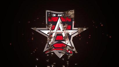 Allen Americans Melting Logo