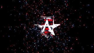 Allen Americans Particle Burst logo reveal